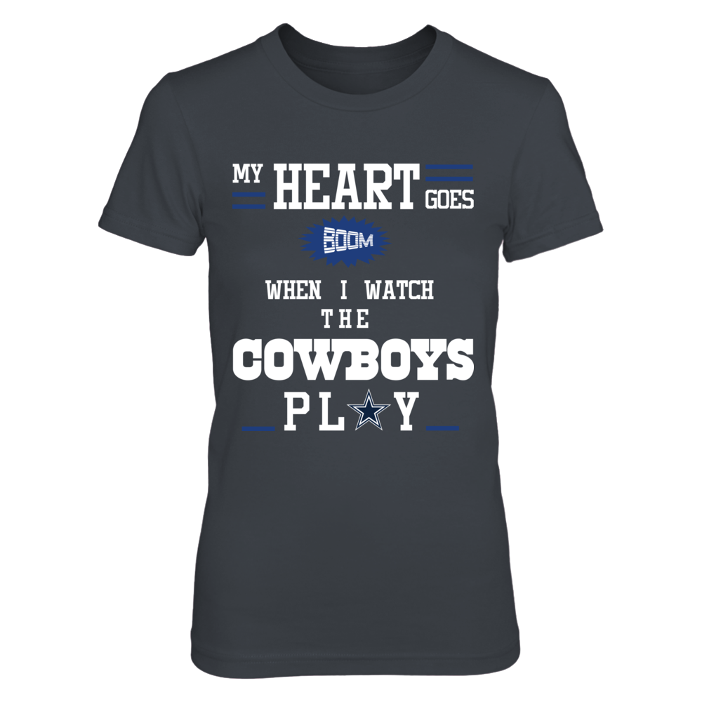 Dallas Cowboys - Hearts Goes BOOM Front picture