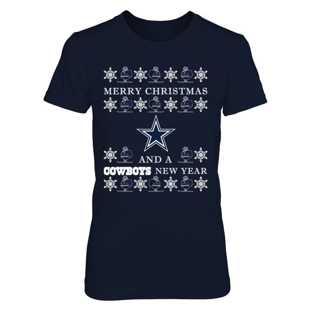 Dallas Cowboys, Ugly Christmas Sweater Front picture