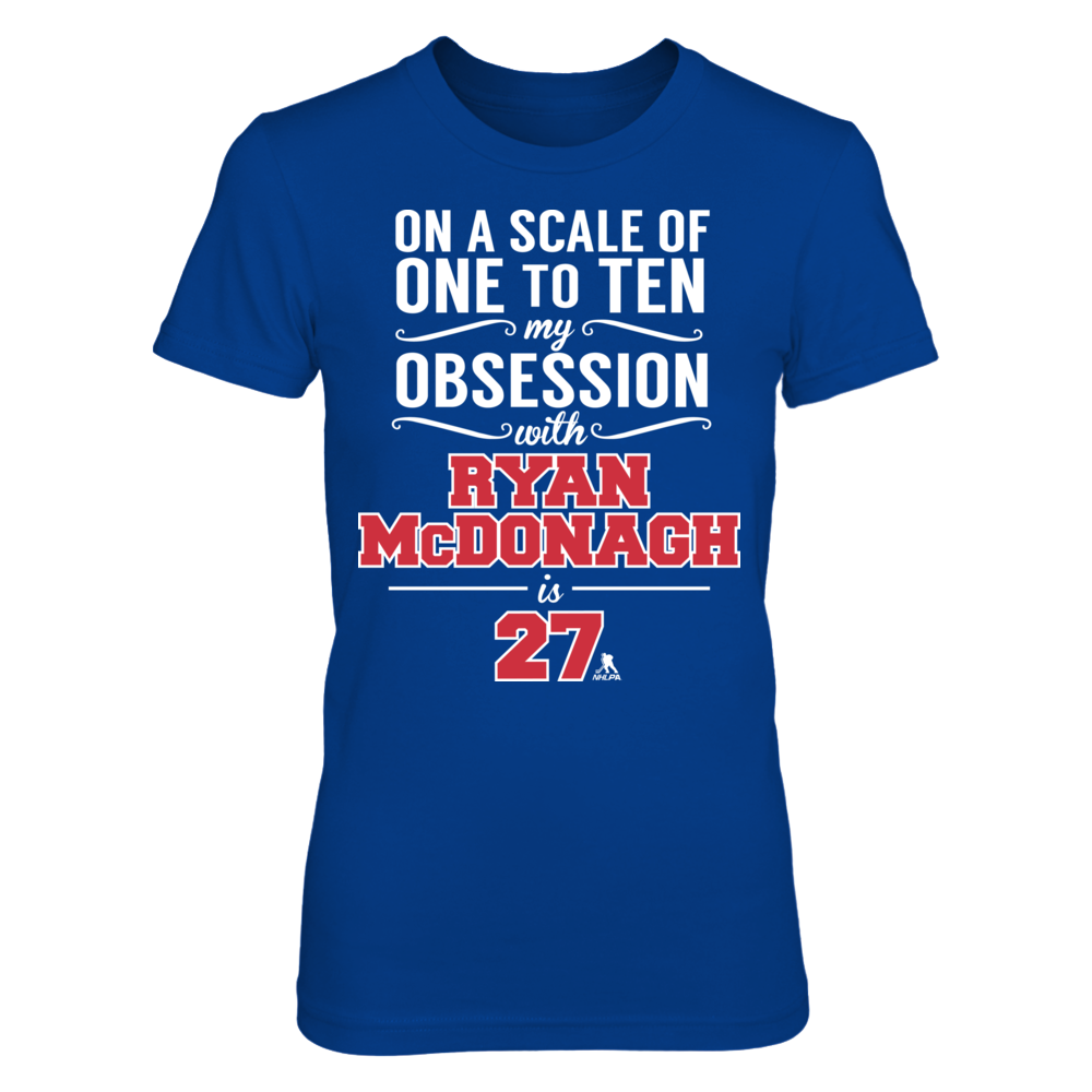 Ryan McDonagh Ryan McDonagh - Obsession Level FanPrint