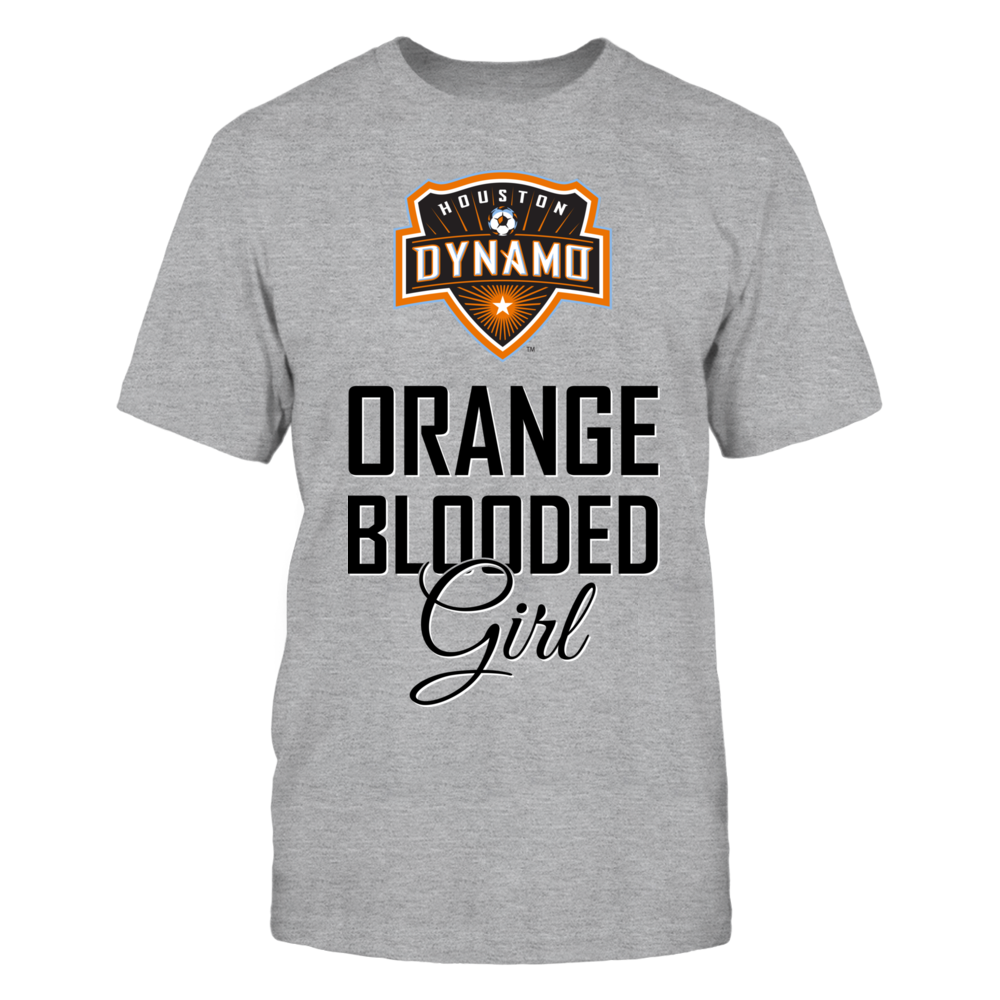 Houston Dynamo Orange Blooded Girl (B) FanPrint