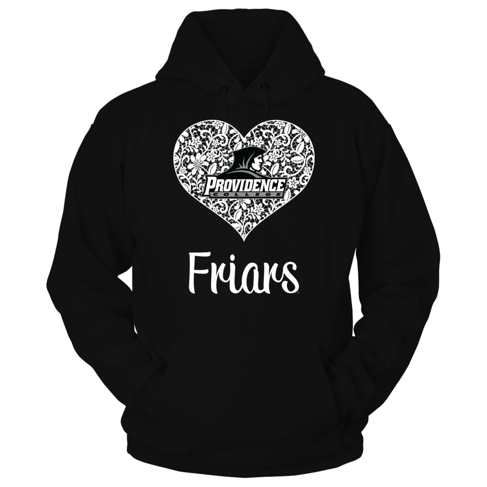 Providence Friars - Lace Heart Logo Front picture
