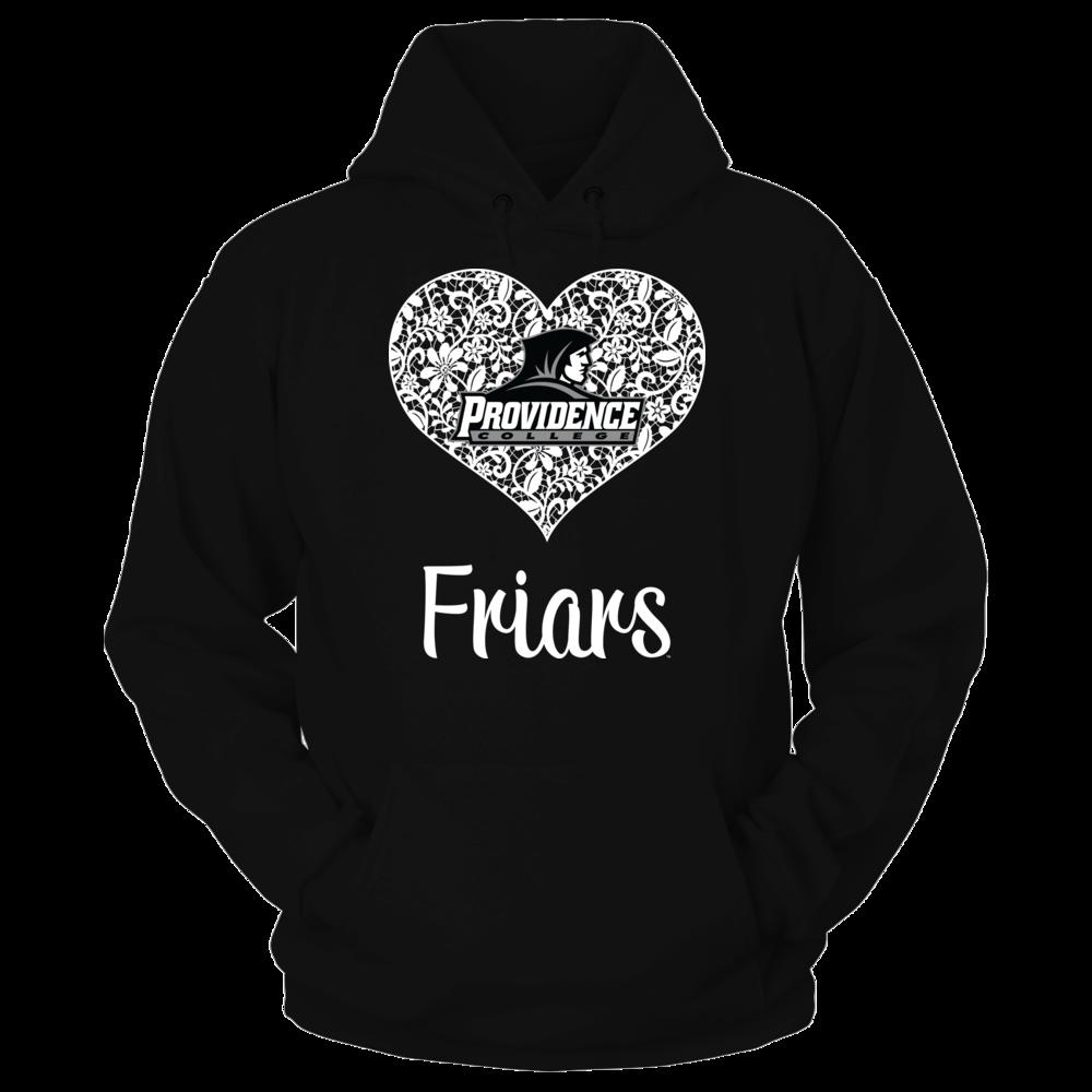 Providence Friars Providence Friars - Lace Heart Logo FanPrint