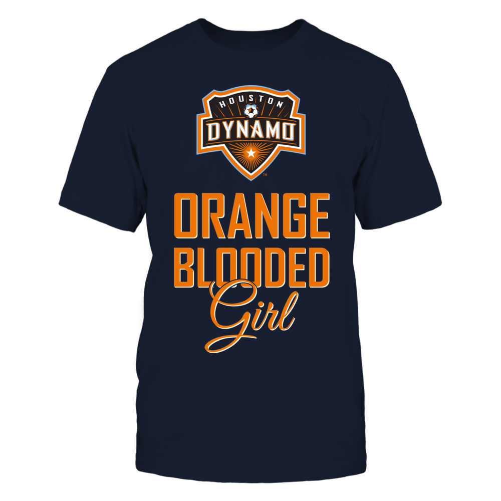 Houston Dynamo Orange Blooded Girl (O) FanPrint