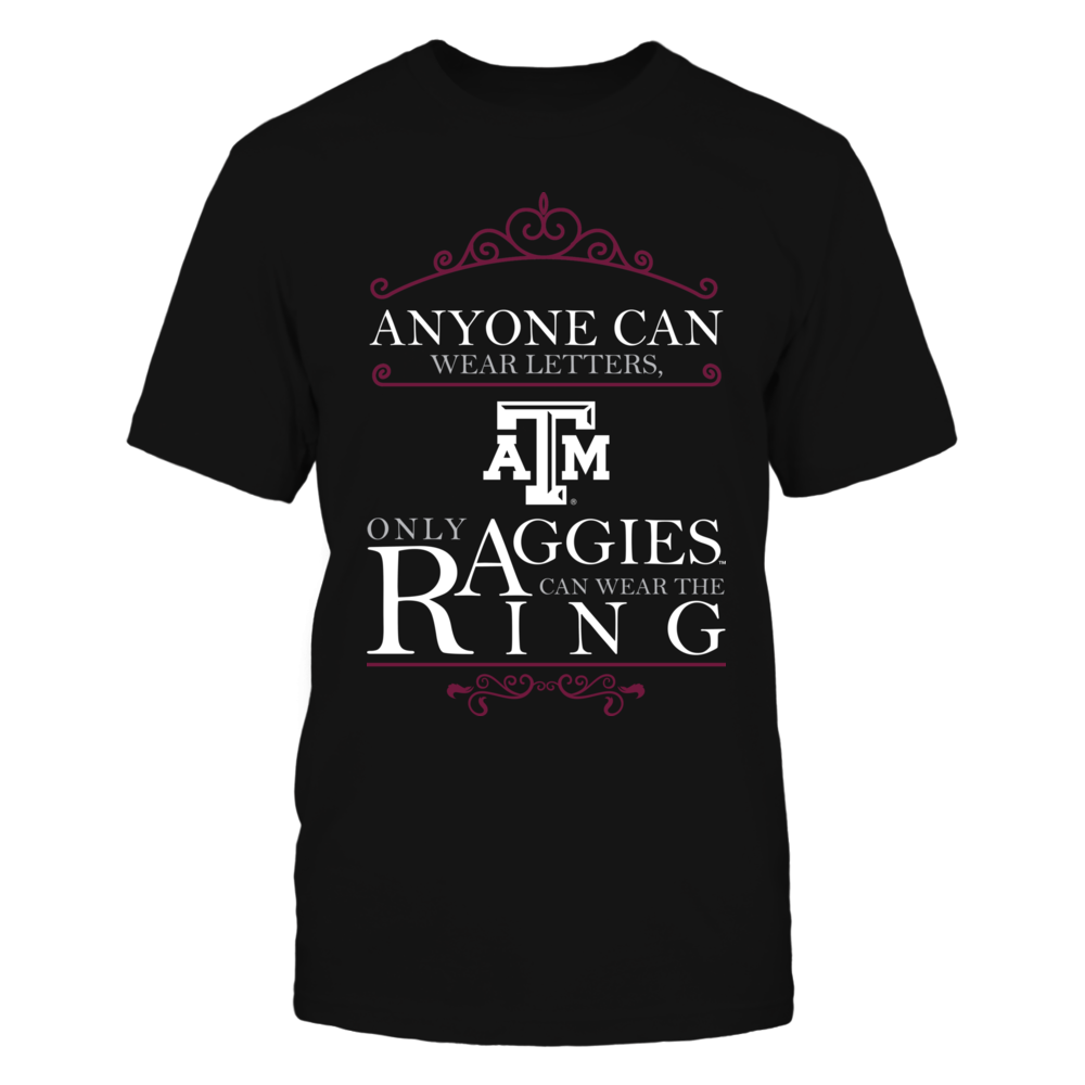 Texas A&M Aggies - Aggies Can Wear The Ring Front picture