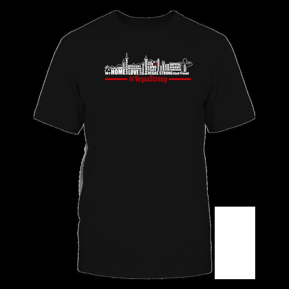 TShirt Hoodie Las Vegas Strong - A Resilent Community FanPrint