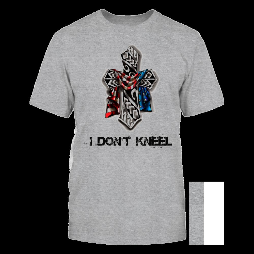 TShirt Hoodie I Don't Kneel FanPrint