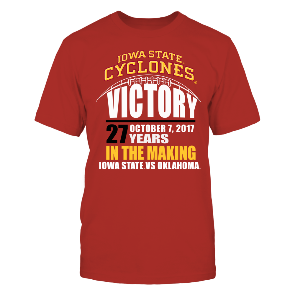 Iowa State Cylones Football - 27 Years in the Making Front picture