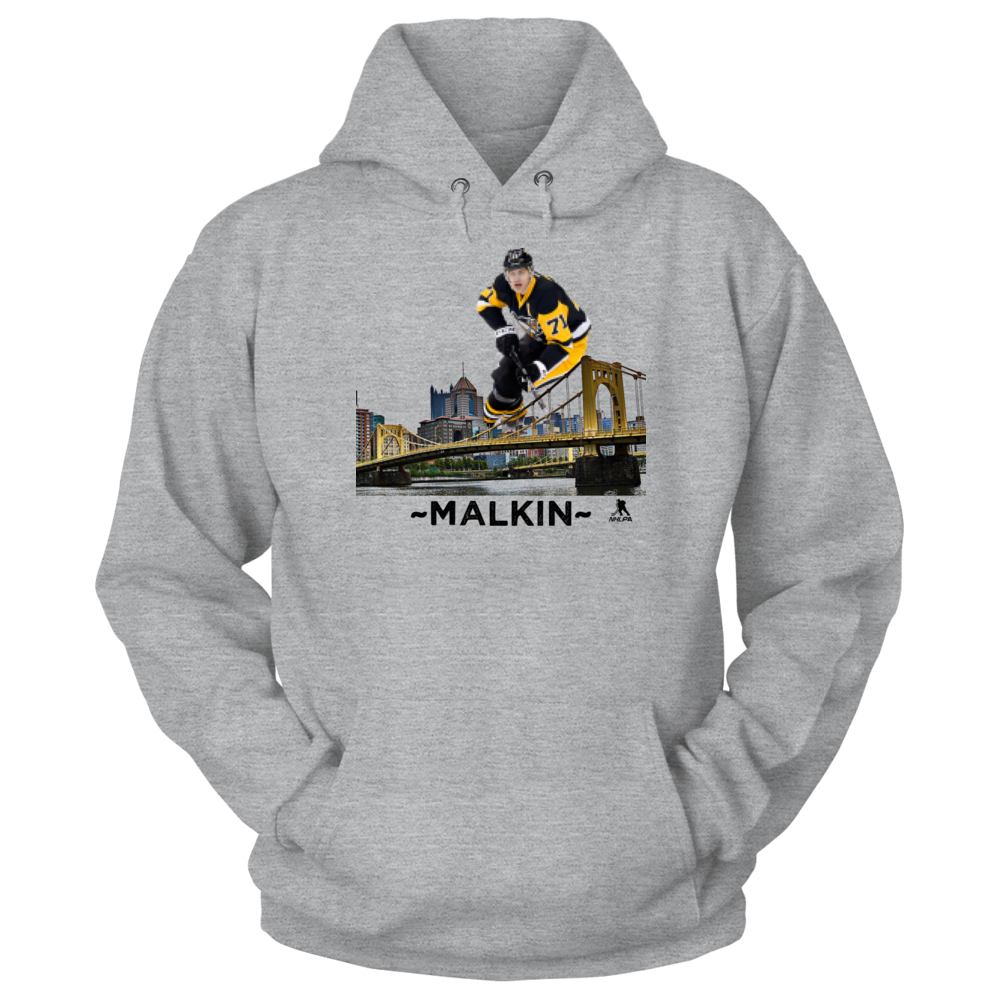 Evgeni Malkin Evgeni Malkin.. Pittsburgh Skyline FanPrint