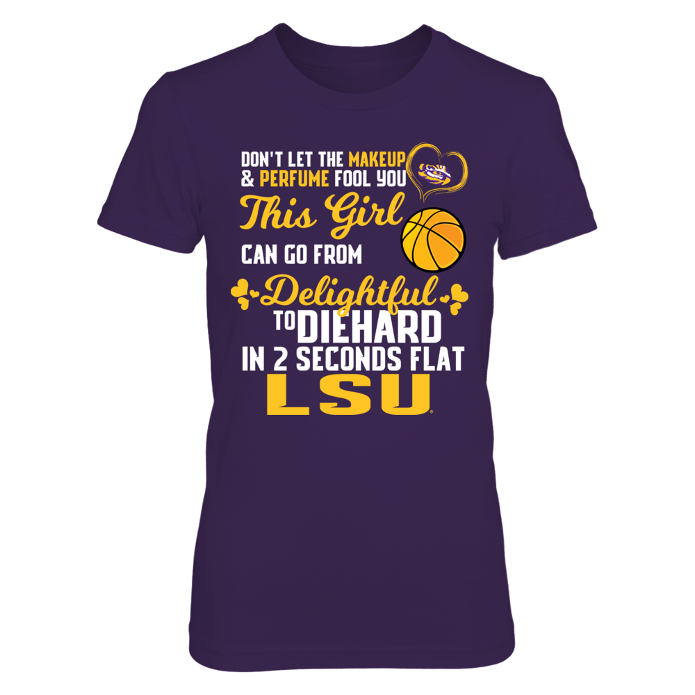 Delightful To Diehard LSU Basketball Front picture