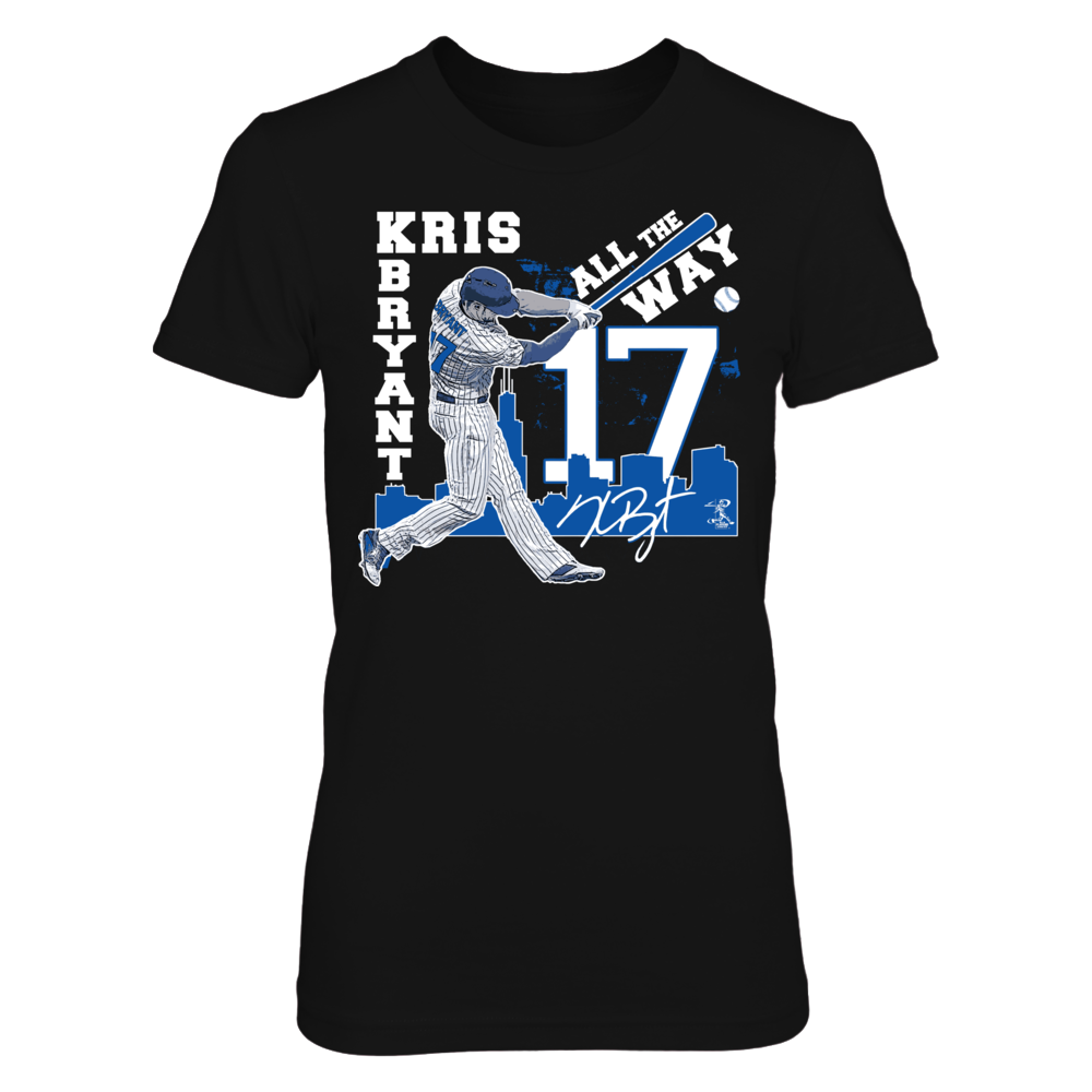 Kris Bryant Kris Bryant 17 All the Way FanPrint