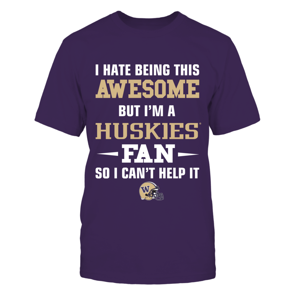 Awesome Huskies Fan Front picture