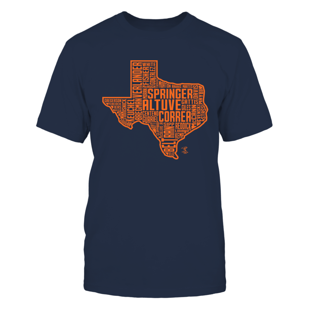 Jose Altuve - 2017 Houston State Outline Team Roster Front picture