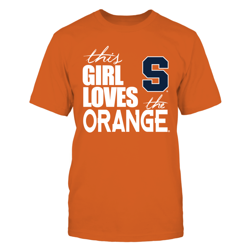 This Girl Loves The Syracuse Orange Front picture