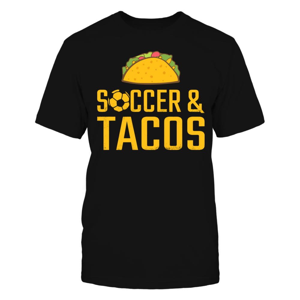 Soccer & Tacos T-Shirt Front picture