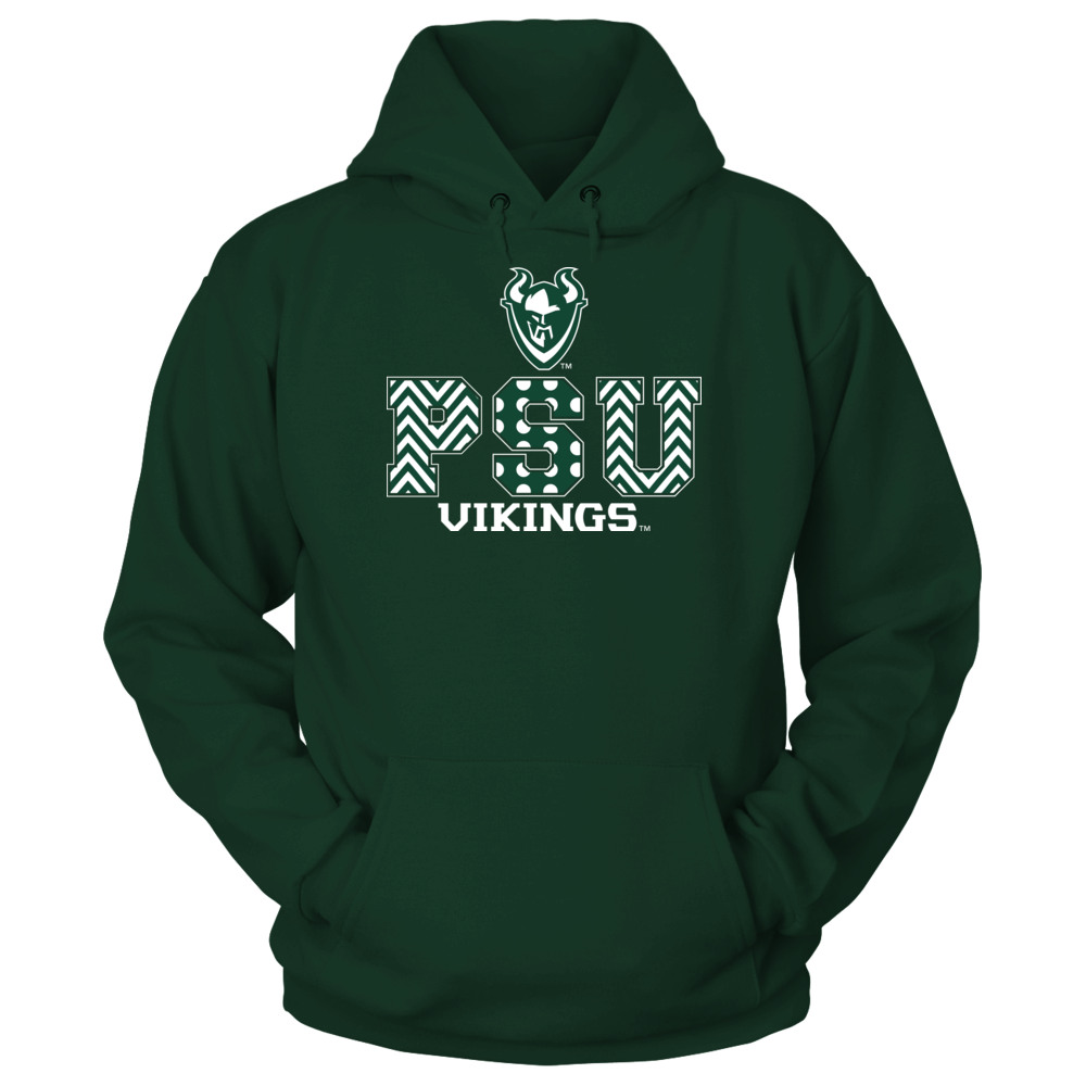 Portland State Vikings - Patterned Letters Front picture