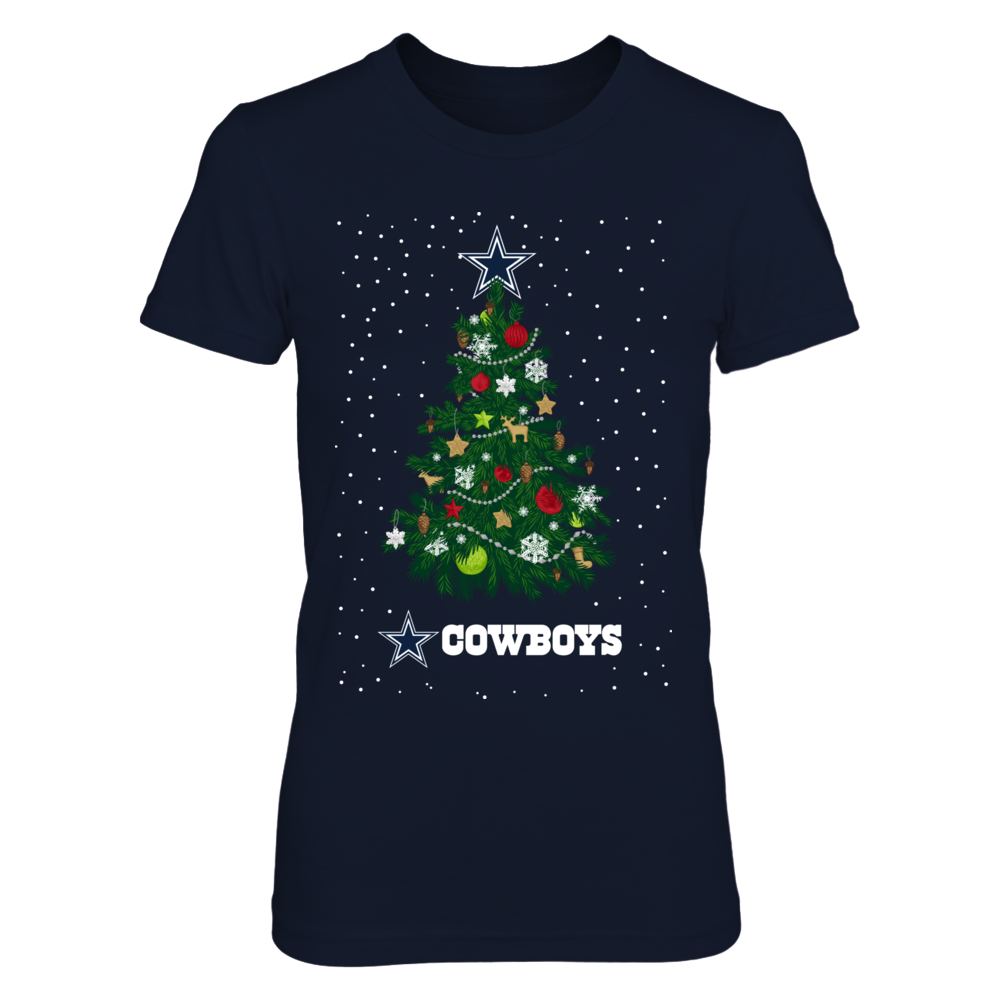 Dallas Cowboys - Christmas Tree Star Front picture