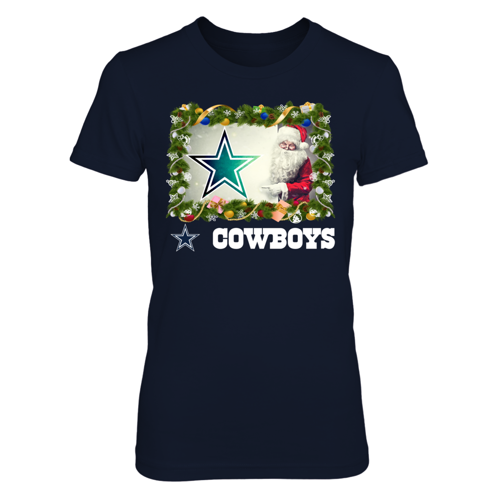 Dallas Cowboys - Santa Shirt Front picture