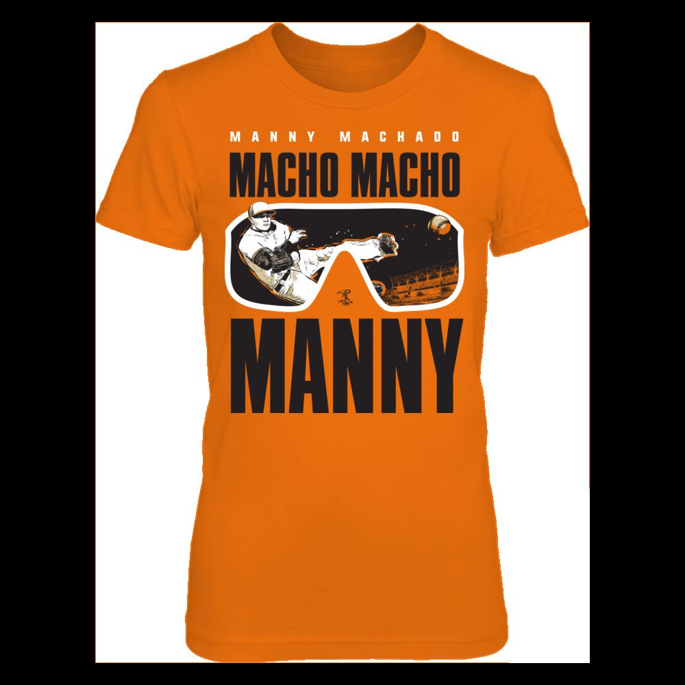 Manny Machado - Macho Macho Manny Front picture