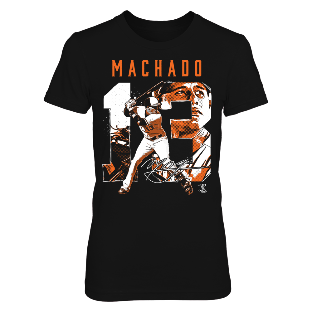Manny Machado - Number Portrait Front picture