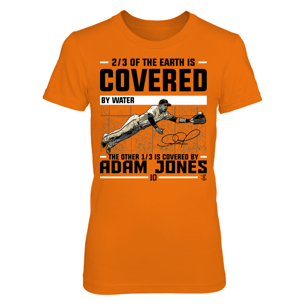 Adam Jones Adam Jones - Covered By FanPrint