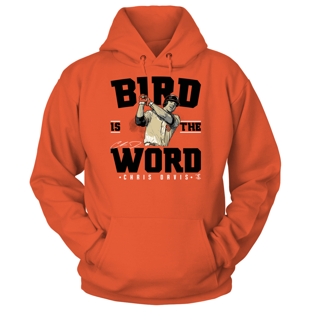 Chris Davis - Bird Is The Word Front picture