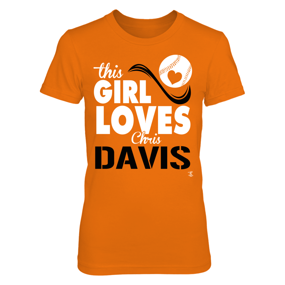 Chris Davis Chris Davis - This Girl Loves FanPrint