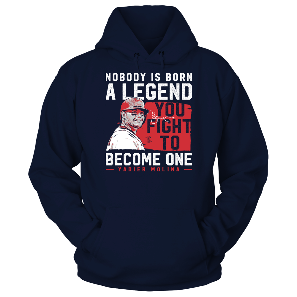 Yadier Molina - Nobody Is Born A Legend Front picture