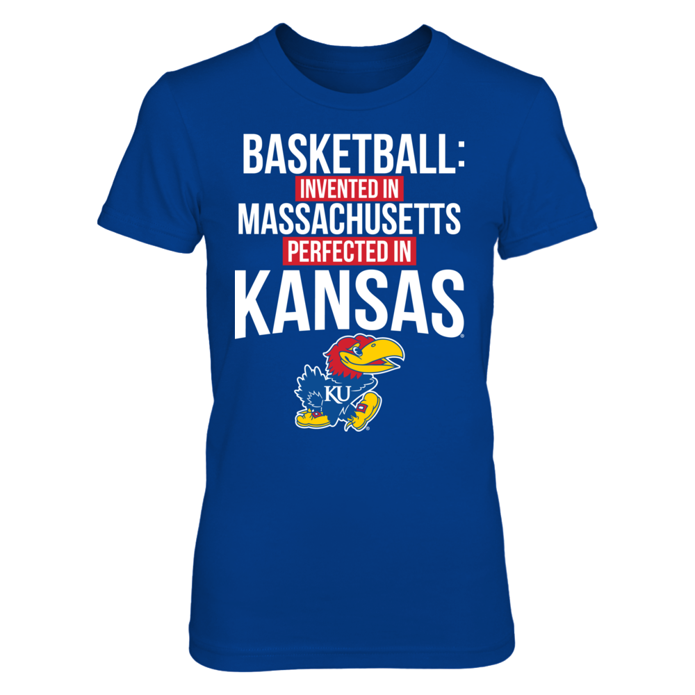 Kansas Jayhawks - Basketball Invented In Perfected In Front picture