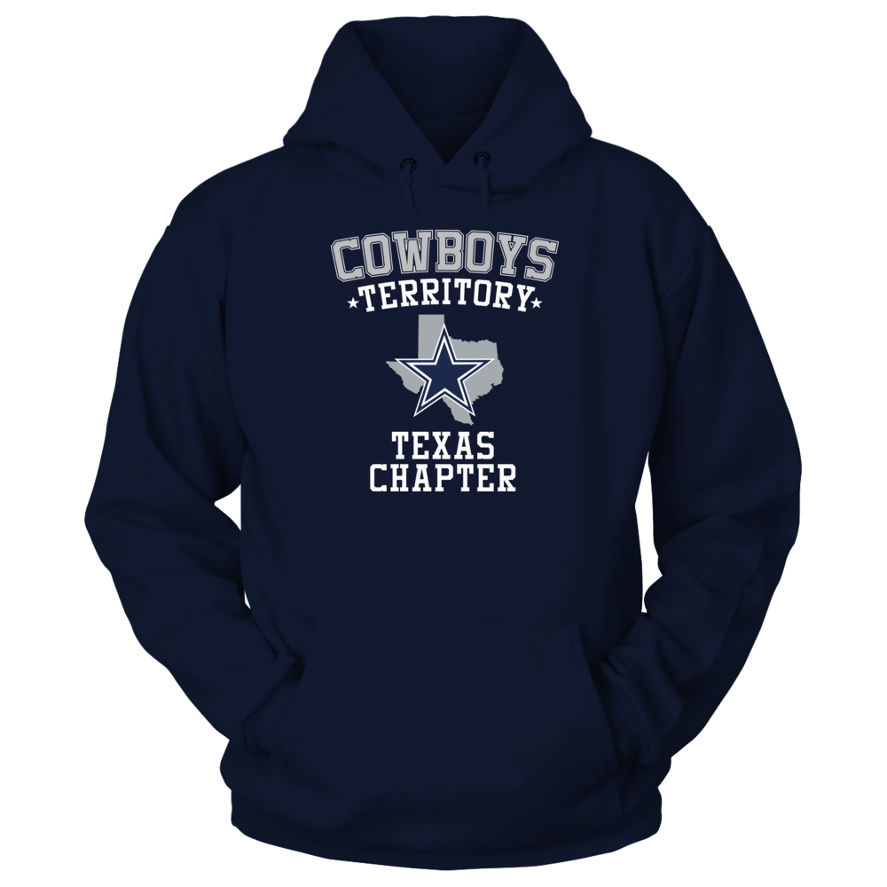 Dallas Cowboys COWBOYS TERRITORY - TEXAS CHAPTER FanPrint