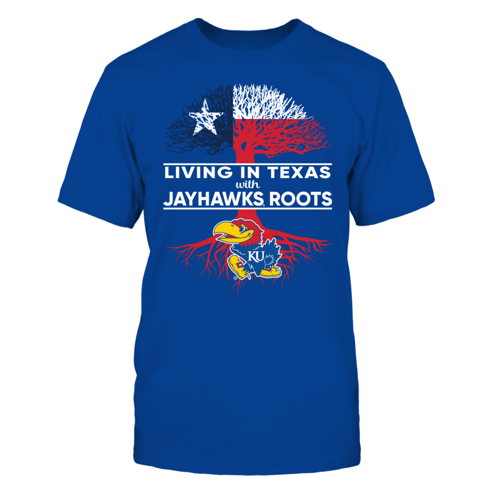 Kansas Jayhawks - Living Roots TX Front picture