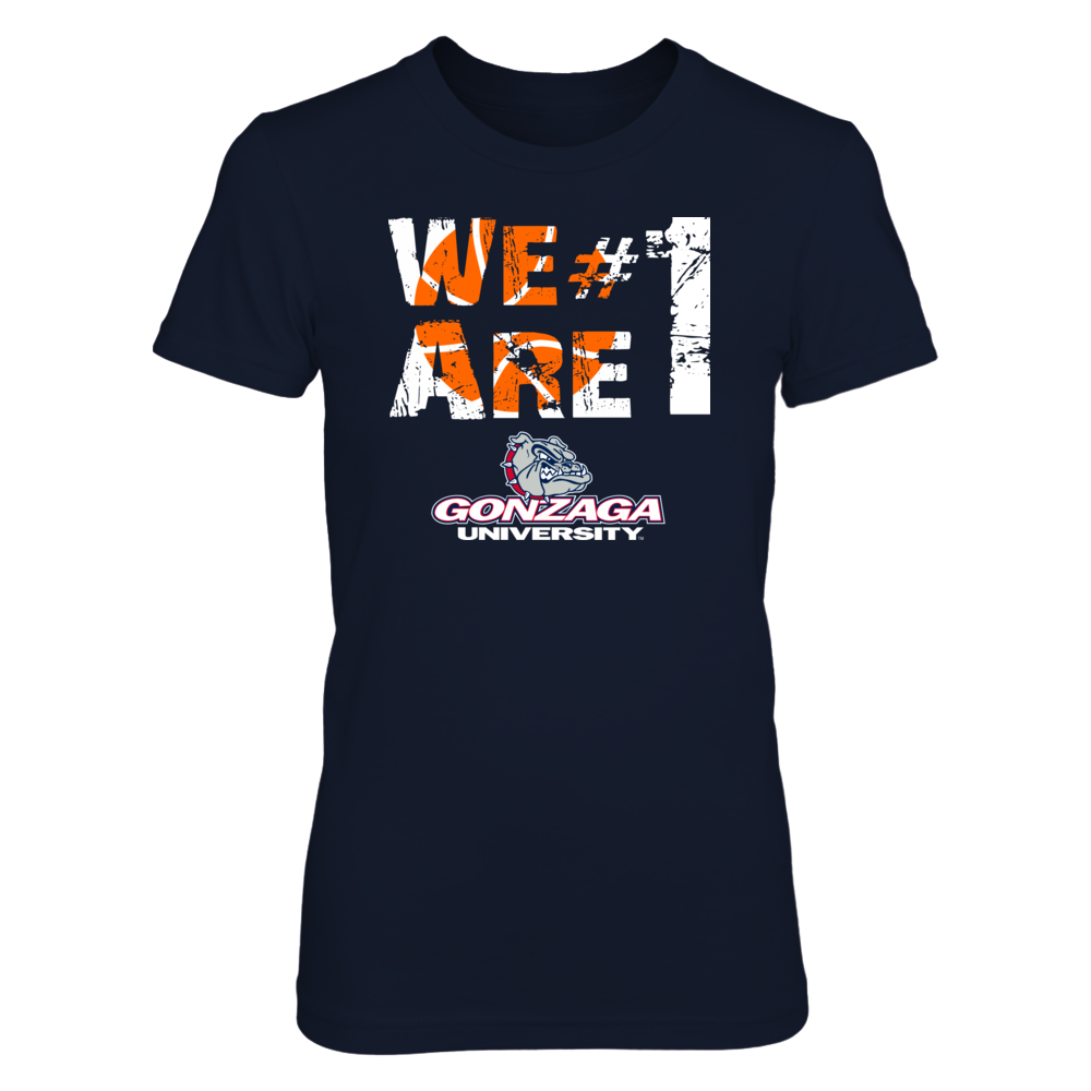 Gonzaga Bulldogs - We Are #1 Front picture