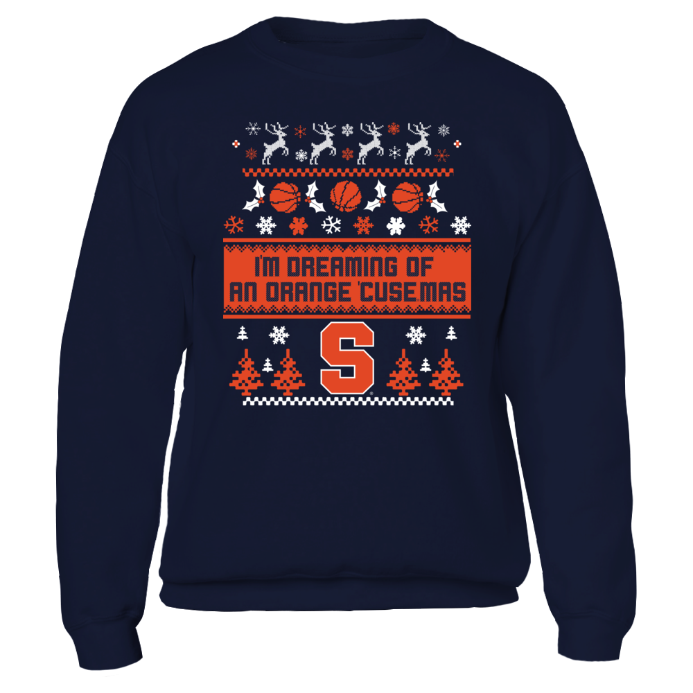 Syracuse  - Ugly Christmas Sweater Front picture