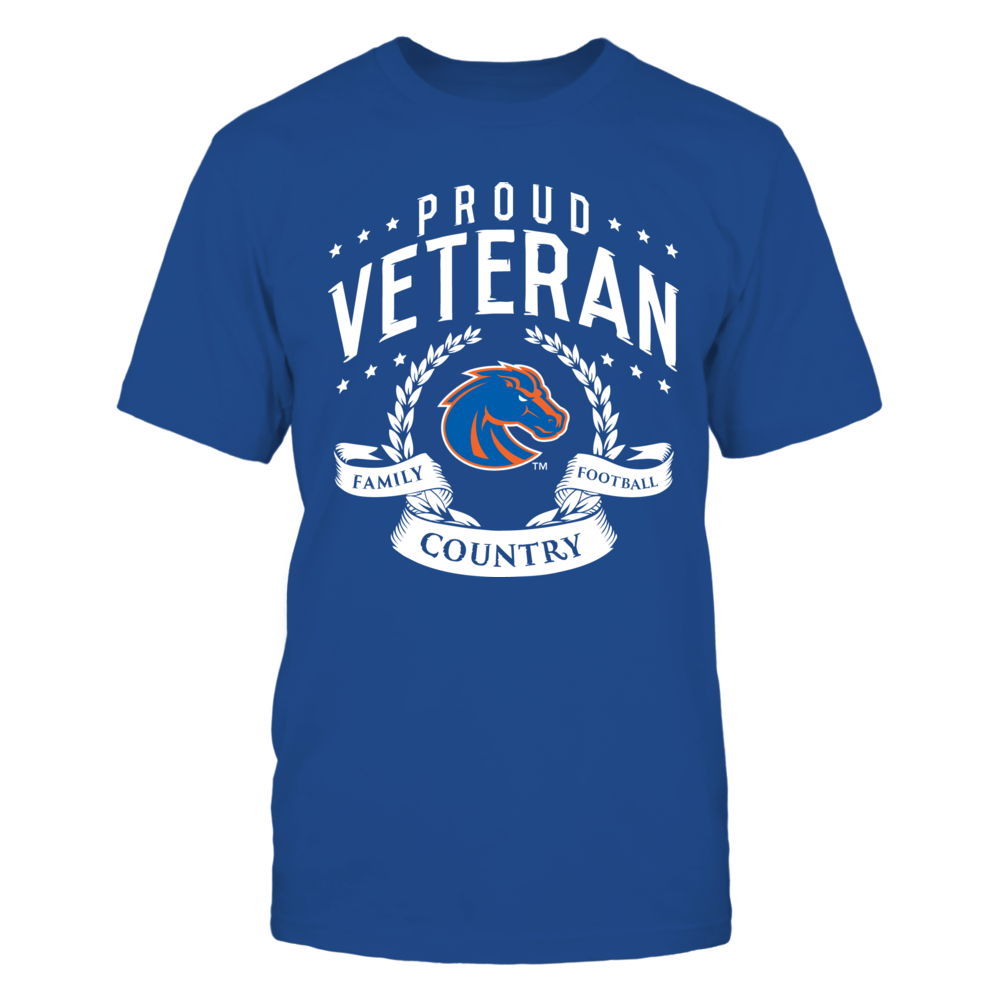 Proud Veteran Boise State Front picture