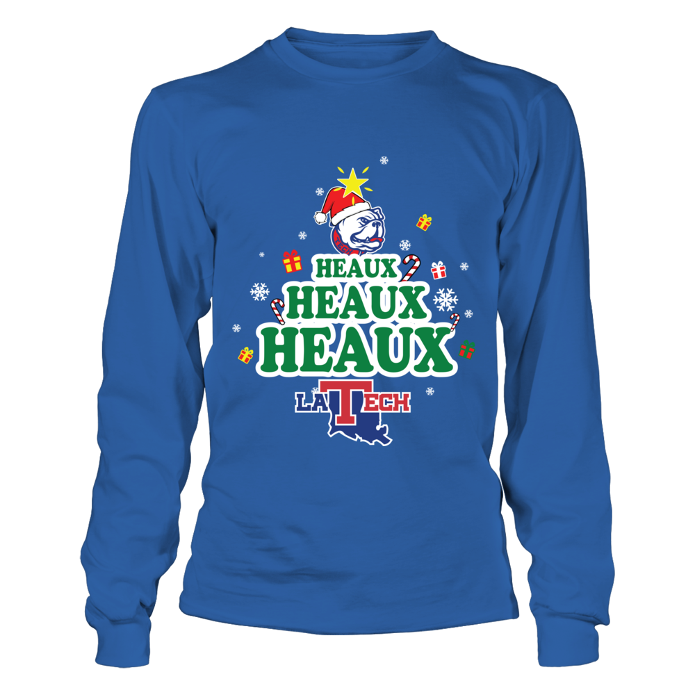 Louisiana Tech Bulldogs - Heaux Heaux Heaux Front picture