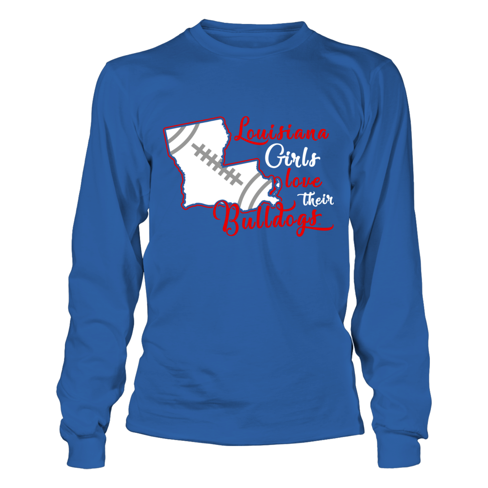 Louisiana Tech Bulldogs - Louisiana Girls Love Their Bulldogs Front picture