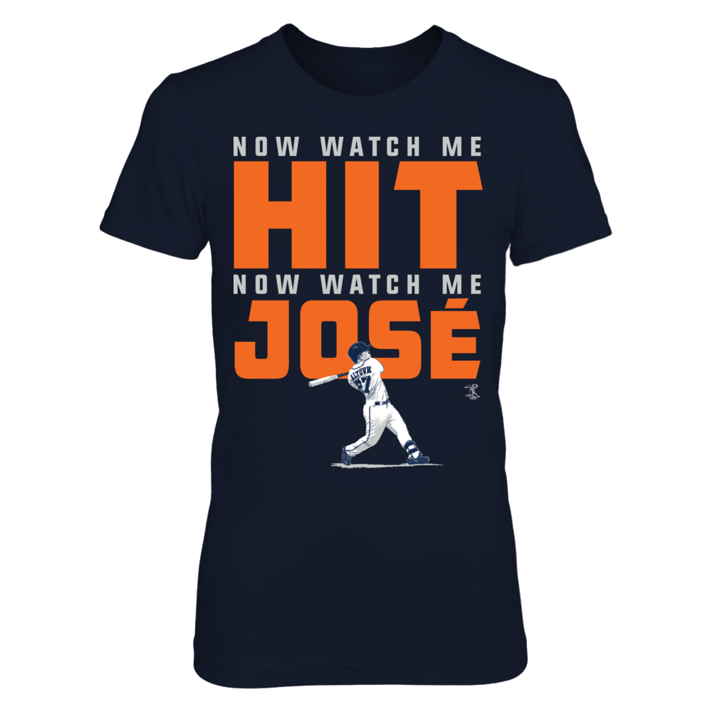 Now Watch Me Hit - Watch Me Jose Altuve Front picture