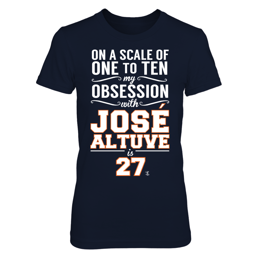 Jose Altuve - My Obsession is 27 Front picture