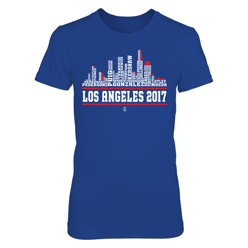 Los Angeles Skyline 2017 Front picture