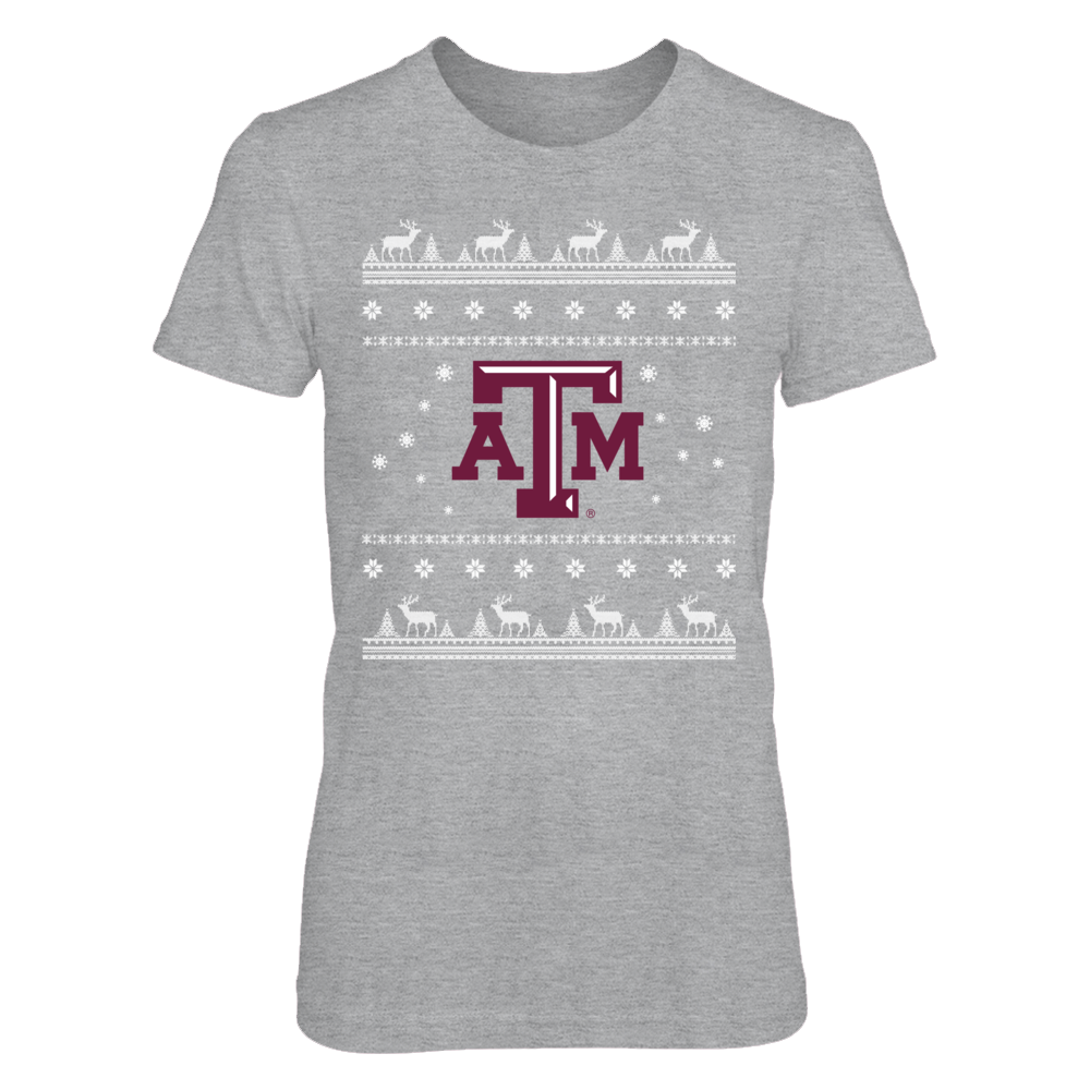 Christmas Texas A&M Aggies Front picture