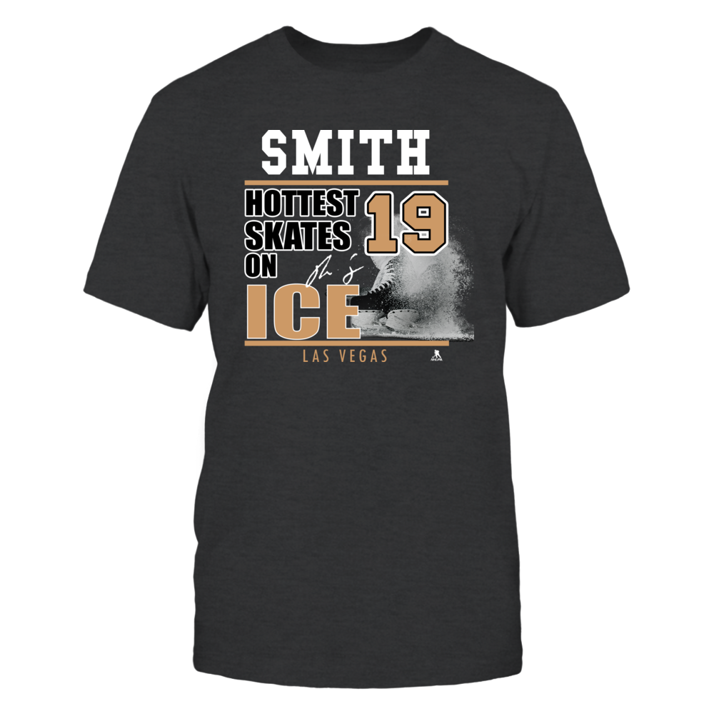 Reilly Smith No. 19 - Las Vegas Golden Knights, Hottest Skates on ICe Front picture