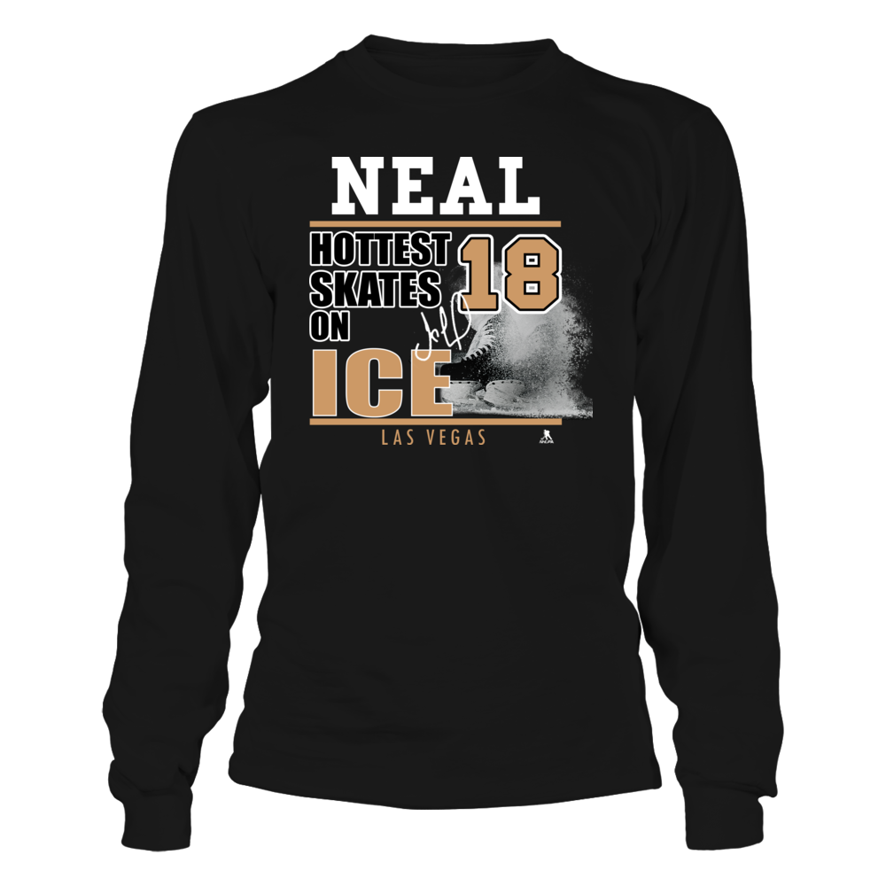 James Neal No. 18 - Las Vegas Golden Knights, Hottest Skates on Ice Front picture