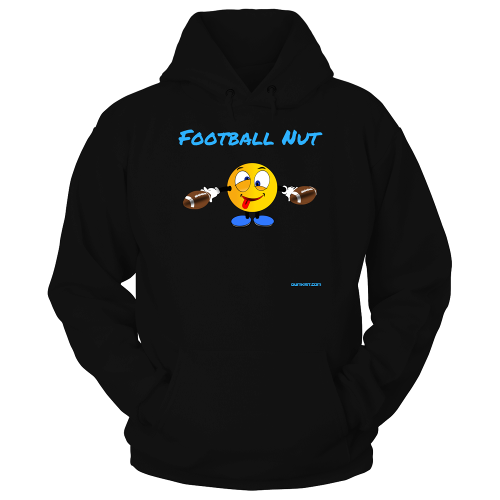 Funny Football Nut Front picture