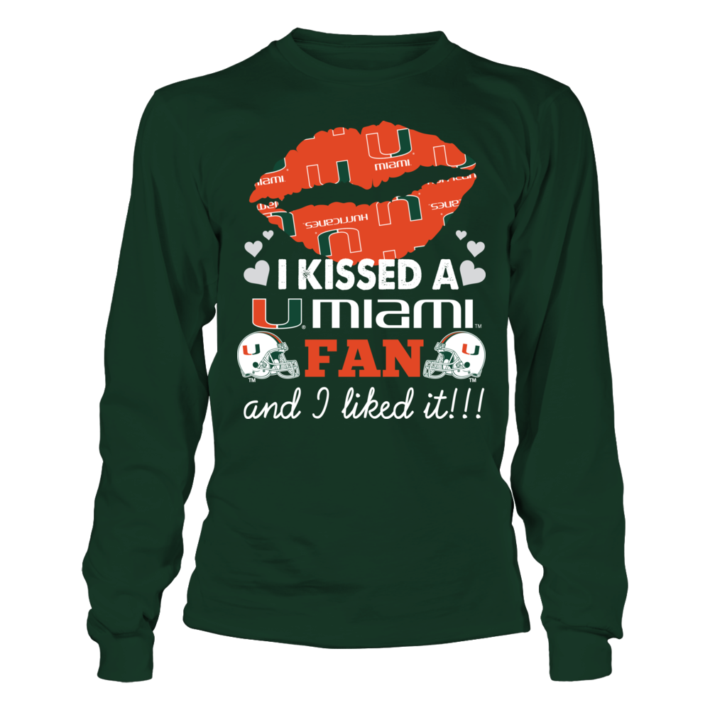 Miami Hurricanes - I Kiss A Fan Front picture