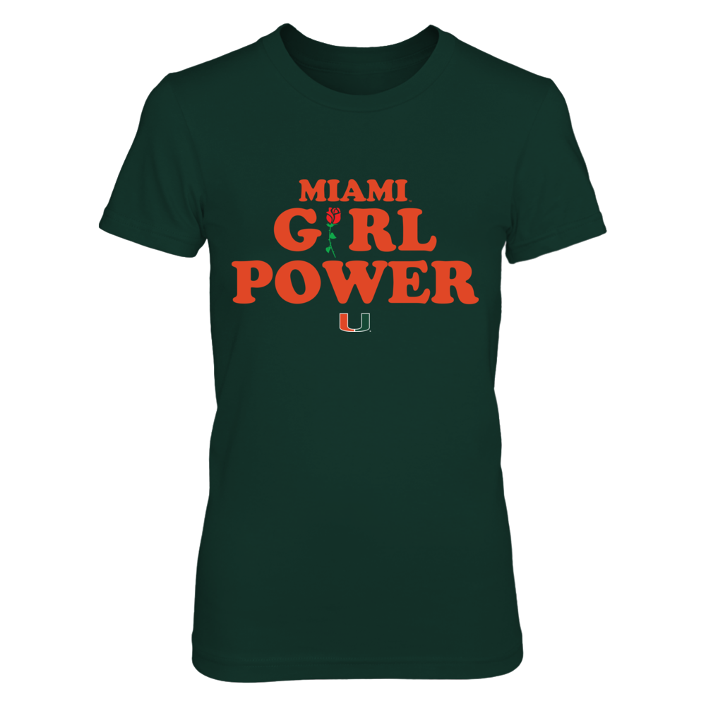 Miami Hurricanes - Girl Power Front picture