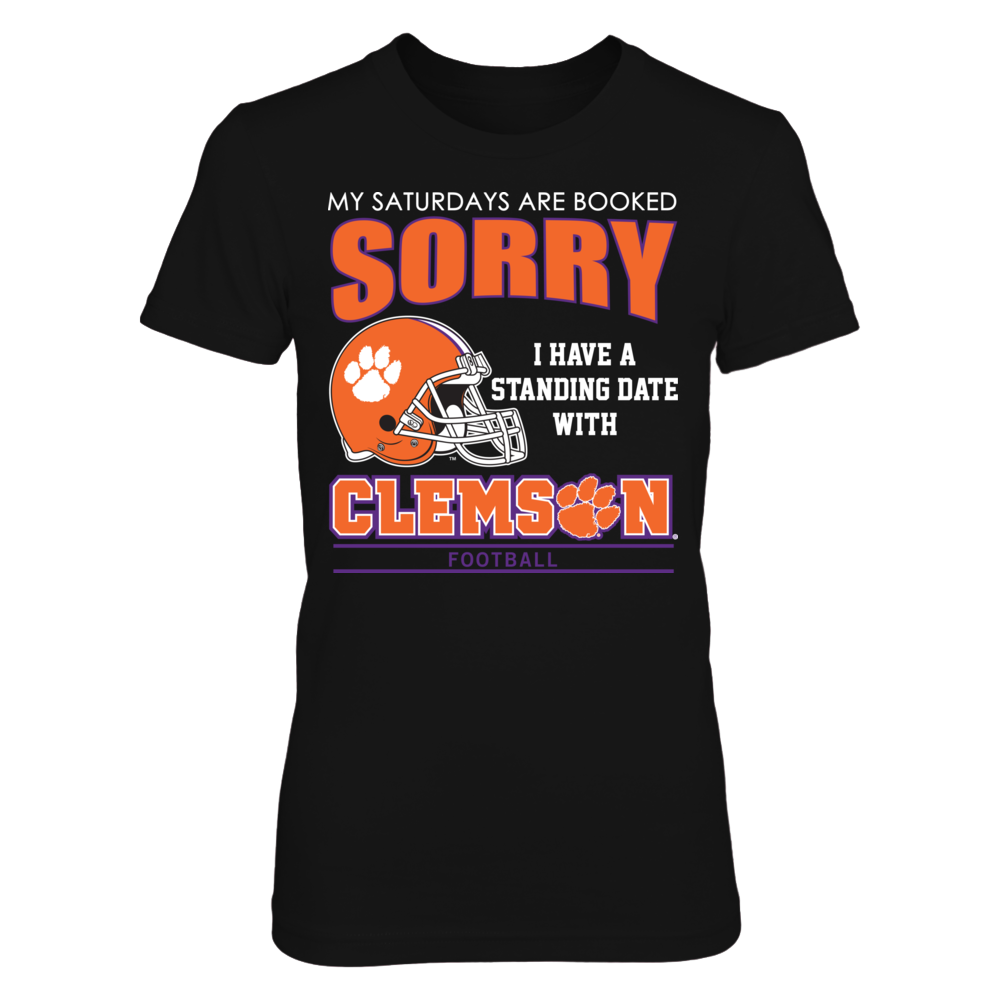 Clemson Tigers - Saturdays Are Booked Front picture