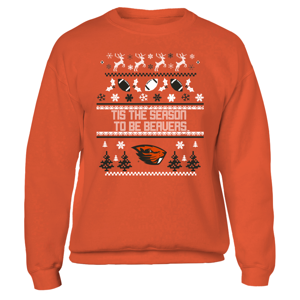 TIS THE SEASON TO BE BEAVERS - OREGON STATE BEAVERS Front picture