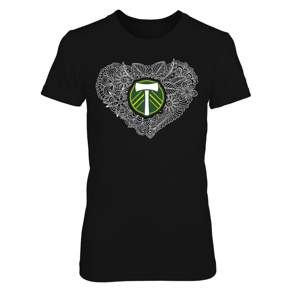 Timbers At Heart Featuring Unique Floral Line Art...Not In Stores! Front picture