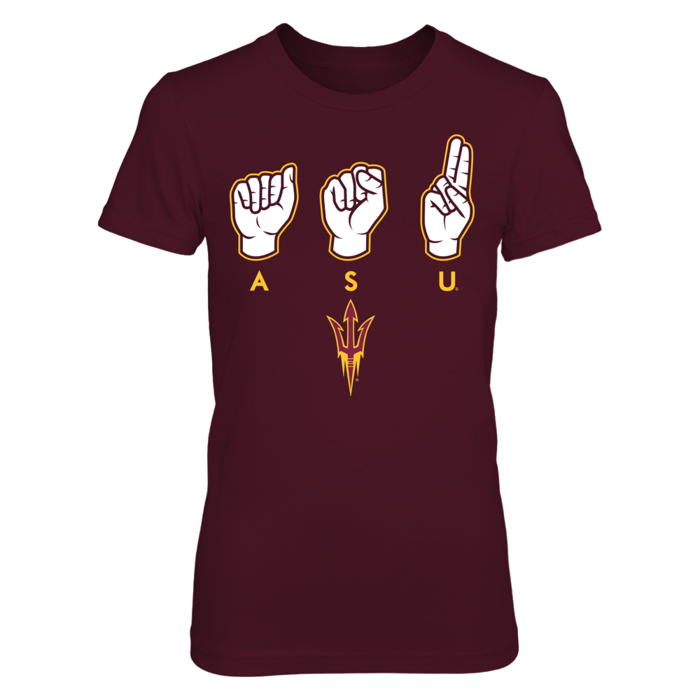 Arizona State Sun Devils - Peace Love Fork 'Em Front picture