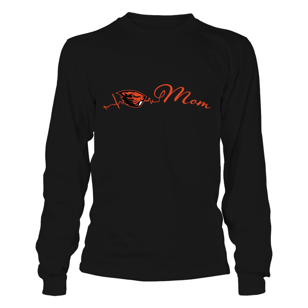 Oregon State Beavers - Mom Heart Beat Front picture