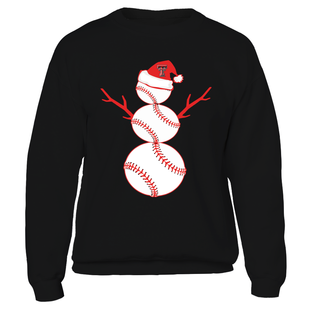 Texas Tech Red Raiders - Baseball Snowman Front picture
